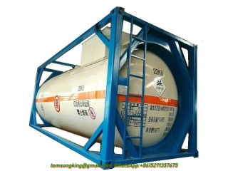 20FT ISO Liquid chlorine Tank Containers 21,670 Liters(CL2 )