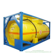 20FT Pressure Tank Container for Liquid Ammonia Un1005 Liquid Nh3 (IsoTank Ammonia, anhydrous) Road Transport