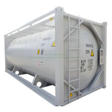 20FT Bulk Cement ISO Tank Container Customizing Transport Plaster Powder, Cement, Flyash Bulk Cement (ISO Tank)