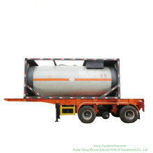 ISO Liquid Chlorine Tank ISO Container for Road Transport Liquid Cl2 Un1791